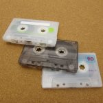 カセットテープと検診日と