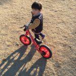 ブランチと子供用自転車と