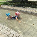 水遊びとオリンピックと