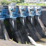 亀山ダムとダムカードと