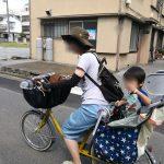 自転車とからし号と