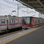 東武伊勢崎線と新型車両