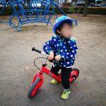 自転車と猛ダッシュと