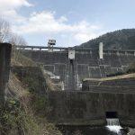 桐生川ダムと梅田湖と