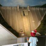 浦山ダムとダム資料館と