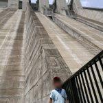 滝沢ダムとループ橋と