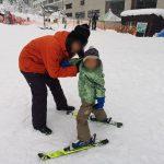 越後中里とスキーデビューと