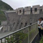 長島ダムと飛沫橋と