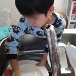 食器洗いとパスタと
