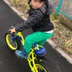 自転車とお買い物と