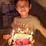 誕生日と6才と