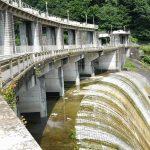 黒部ダムと川俣ダムと小網ダムと