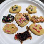 クッキーと気温の変化と