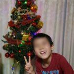 クリスマスツリーと緑色と