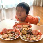クッキーと猫皿と